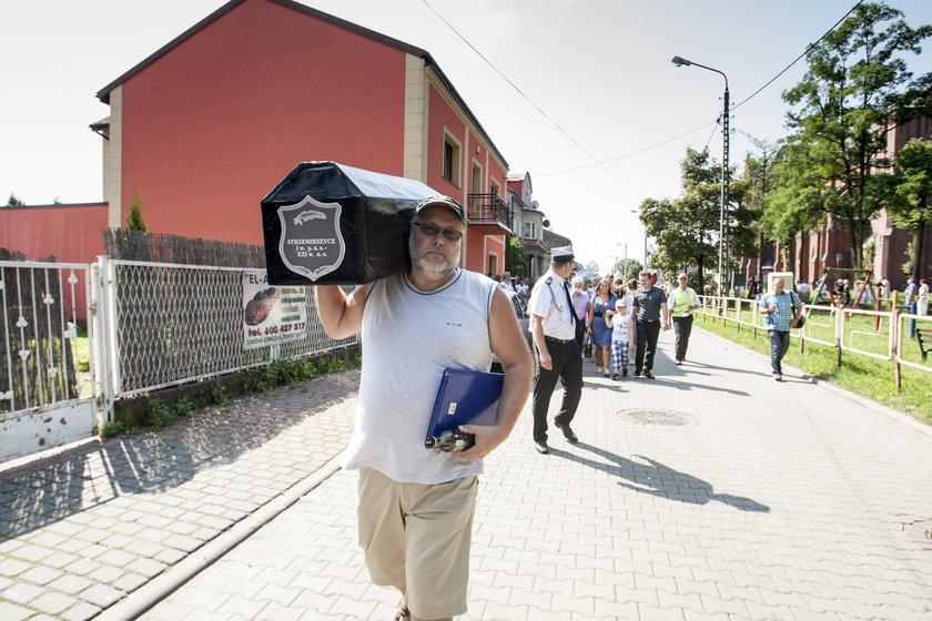 Protest mieszkańców Strzemieszyc
