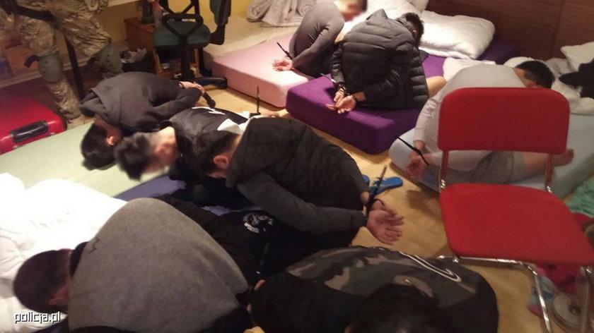 Policja zlikwidowała chiński gang działający w Polsce