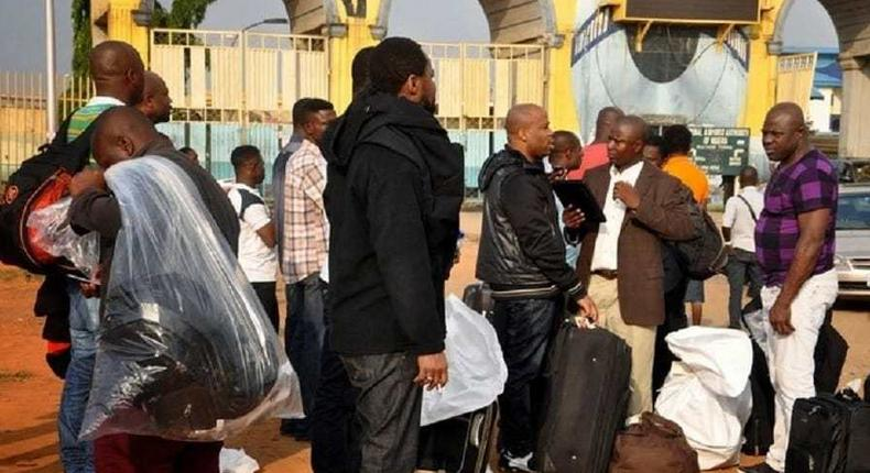 Seventeen Ghanaians deported from Germany, here's why