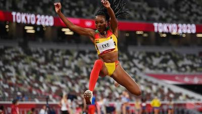 Tokyo 2020: Nadia Eke fails to progress in Women's Triple Jump after 3 unsuccessful attempts