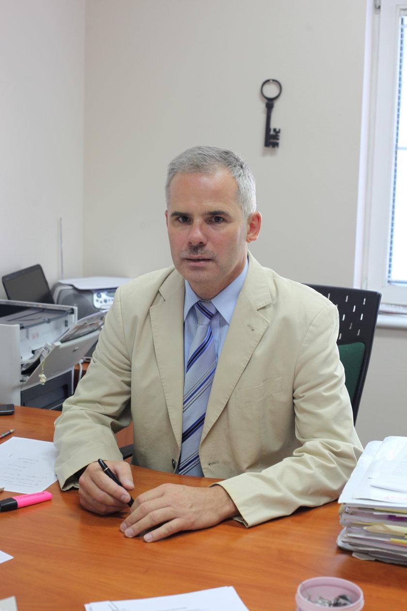Mariusz Marciniak z prokuratury apelacyjnej w Gdańsku