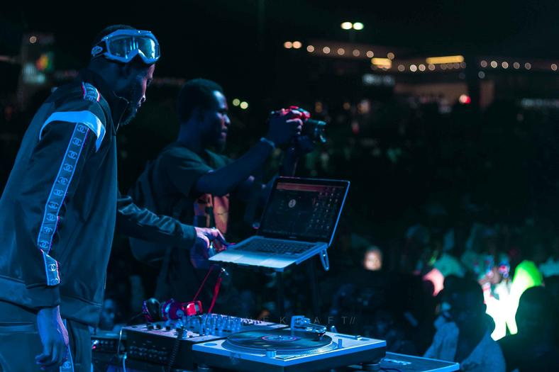 DJ Sly draws massive crowd with maiden solo concert
