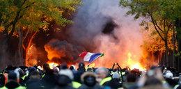 Niepokój we Francji. Przygotowano 180 tys. granatów z gazem łzawiącym