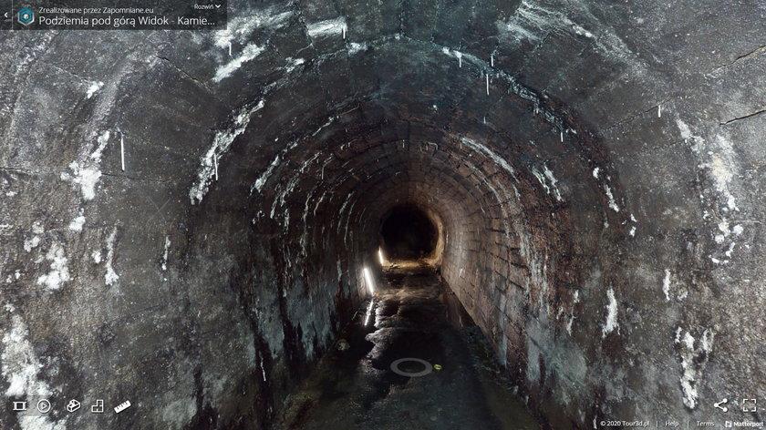 Skanowanie podziemi w Kamiennej Górze