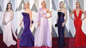 Oscary 2016: zobacz kreacje gwiazd na czerwonym dywanie