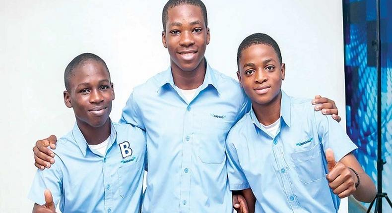 Oluwatunmise Ayeni, Rotimi Adegbiji and Egie Akede have come up with an app to reduce smoking called the 'RET-Vape Selling App'. Credit: The Cable