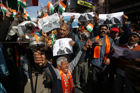 Indijci slave vest o napadu na pobunjenike