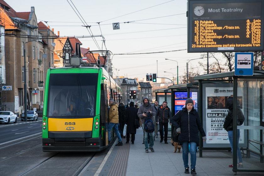 Ograniczenie liczby pasażerów w pojazdach komunikacji