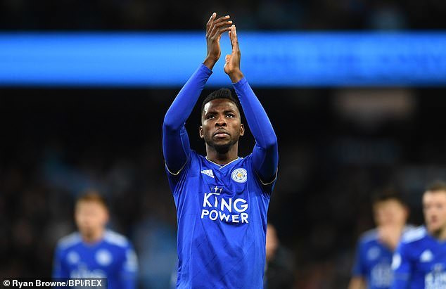 Kelechi Iheanacho suffered another miserable season with Leicester City with just one league goal in 30 games  (Ryan Browne/BPI/REX)