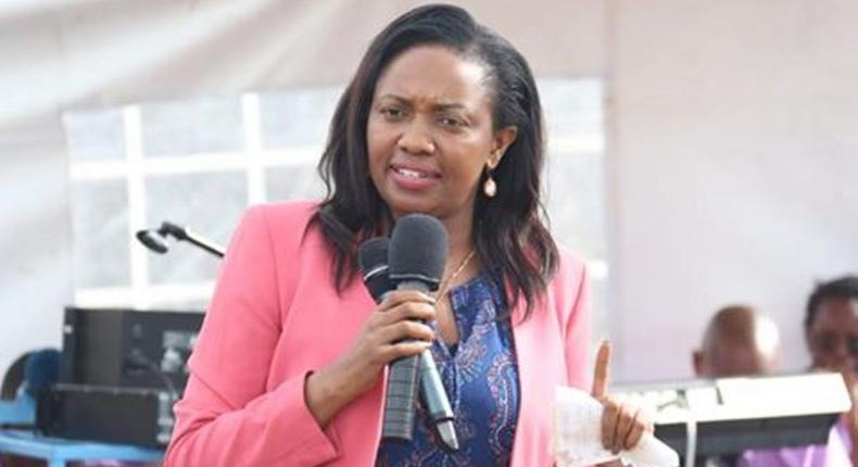 Susan Kihika accuses Gov't of planning chaos in Thursday's London Ward by-election