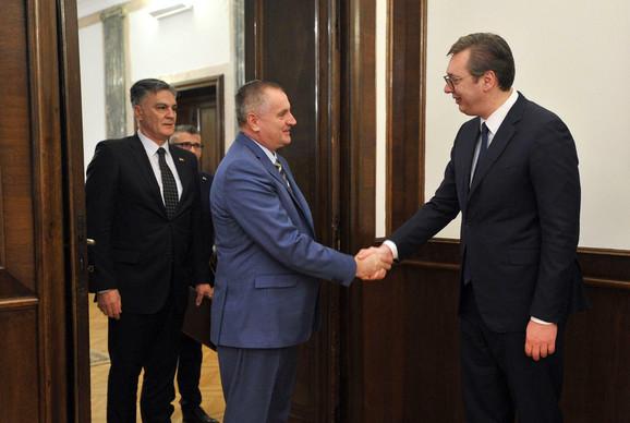 Višković i Vučić danas u Beogradu