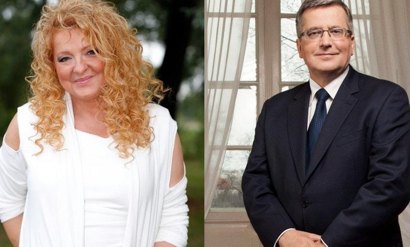 Magda Gessler bronisław komorowski