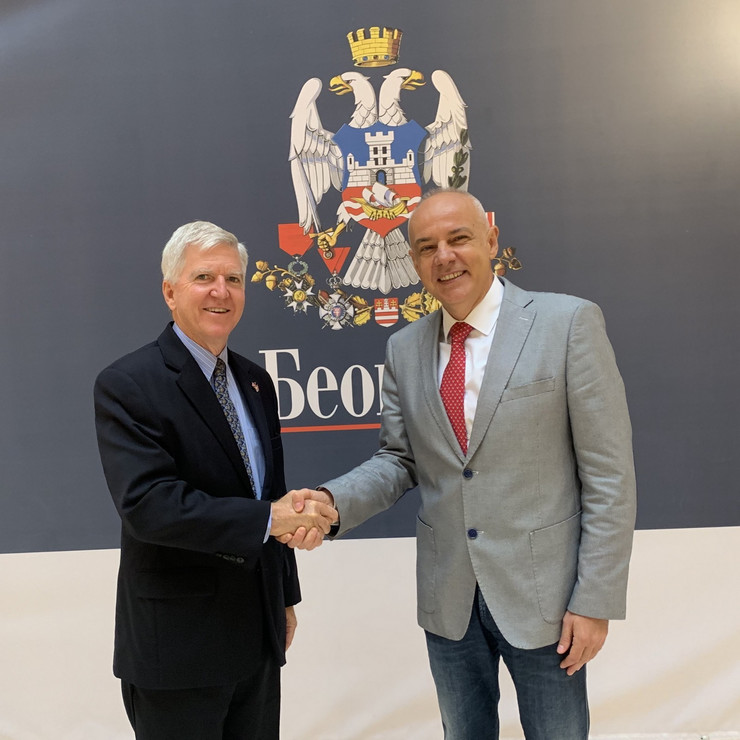 Kajl Skot i Zoran Radojičić