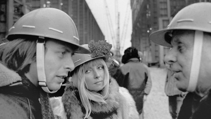 """Wojciech Plewiński, fotografia z cyklu """"Huta Katowice 1976"""""""