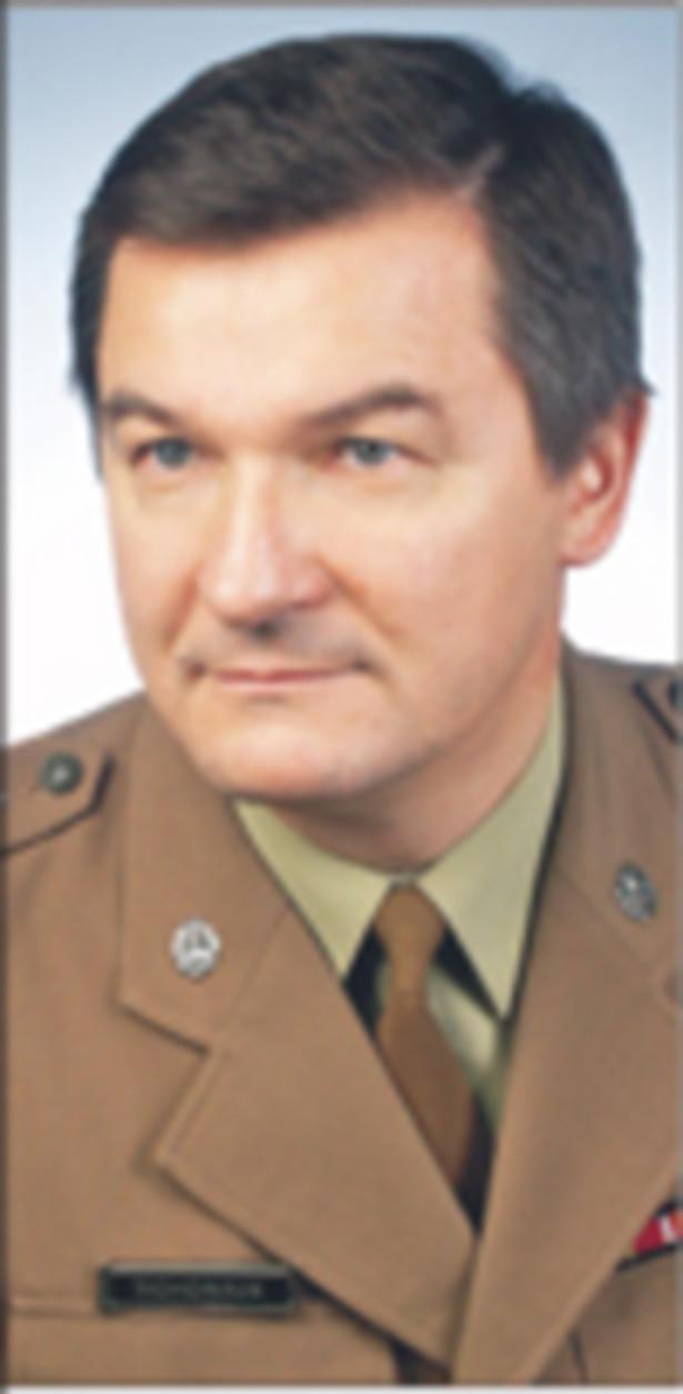 Płk Anatol Tichoniuk, przewodniczący Konwentu Dziekanów Korpusu Oficerów Wojska Polskiego