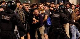 Protesty w Barcelonie. 28 osób tymczasowo aresztowanych