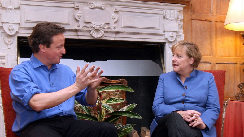 Kanclerz Merkel ma układ z brytyjskim premierem