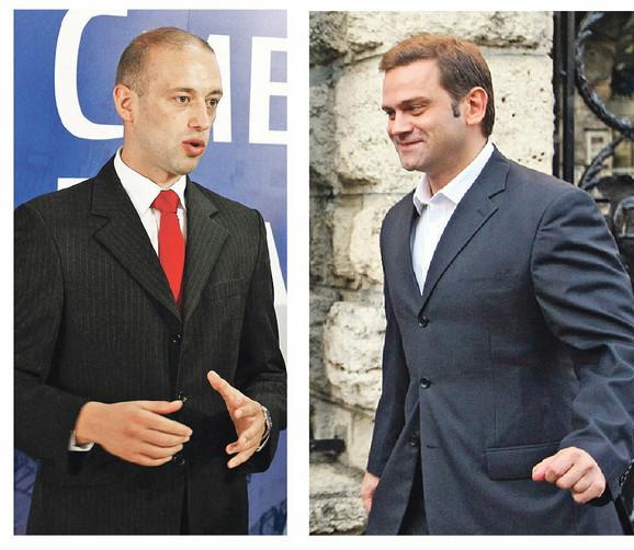 Sukobili se oko stranačkog programa: Radoslav Milojičić Kena i Borislav Stefanović