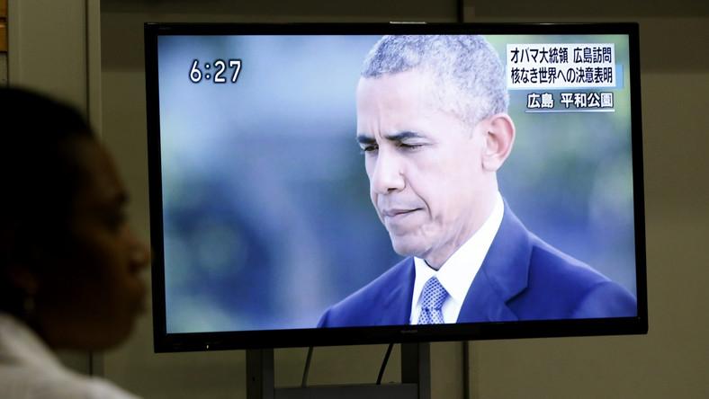Po przybyciu na miejsce prezydent Stanów Zjednoczonych w towarzystwie premiera Japonii Shinzo Abego udali się do muzeum znajdującym się w parku pokoju w Hiroszimie, gdzie Obama wpisał się do księgi pamiątkowej. Poznaliśmy już agonię spowodowaną przez wojnę. Znajdźmy w sobie teraz odwagę, aby szerzyć pokój i działać na rzecz świata bez broni nuklearnej - napisał Obama w księdze pamiątkowej.