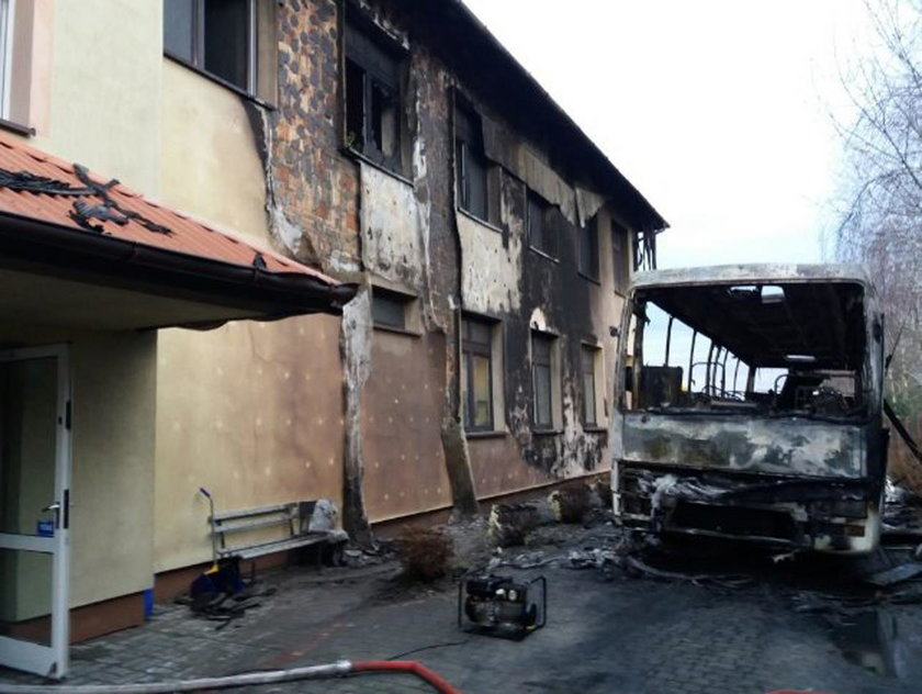 Pożar szkoły