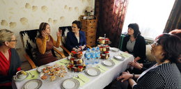 Ewa Kopacz na kawie u żon górników z Sosnowca