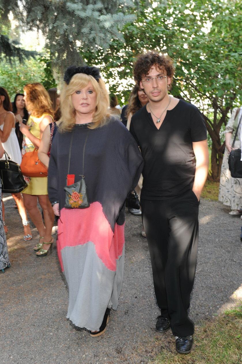 66-letnia Pugaczowa z mężem