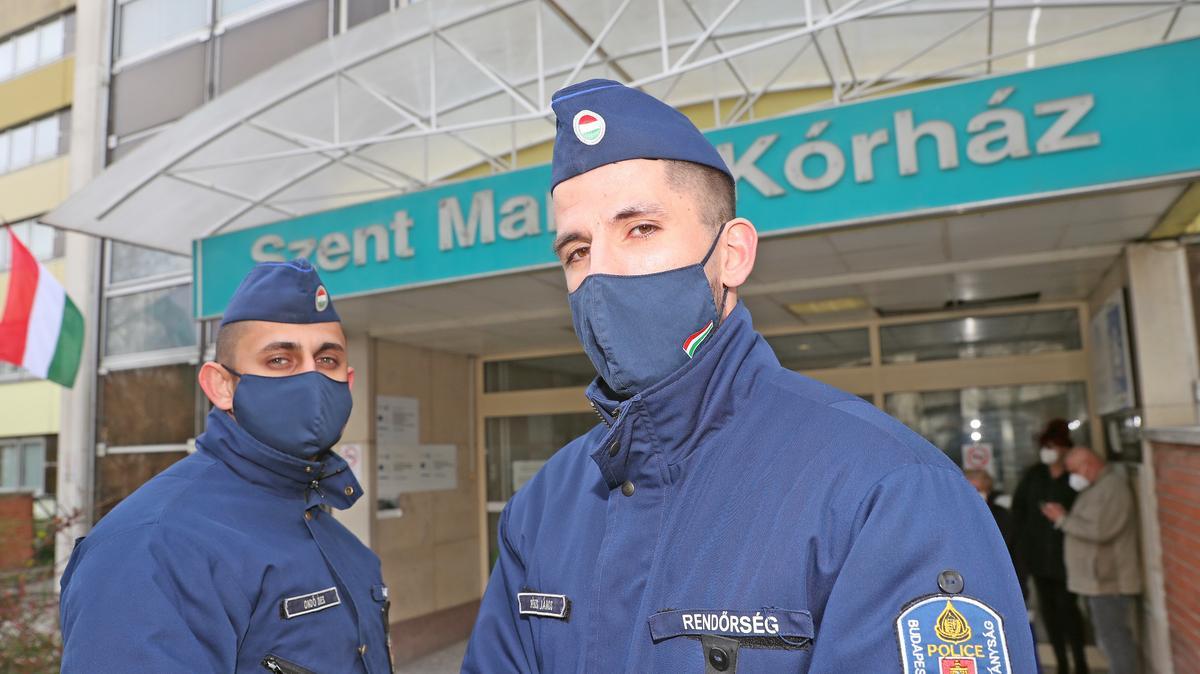 Zugdohányos beteg okozta a halálos tüzet a Margit kórházban is - megszólaltak a mentésben résztvevő, hős rendőrök