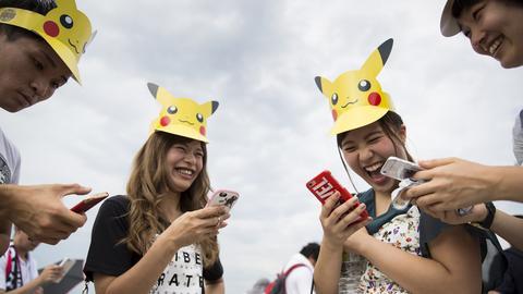 """""""Pokémon Go"""" było wielkim hitem w 2016 roku"""