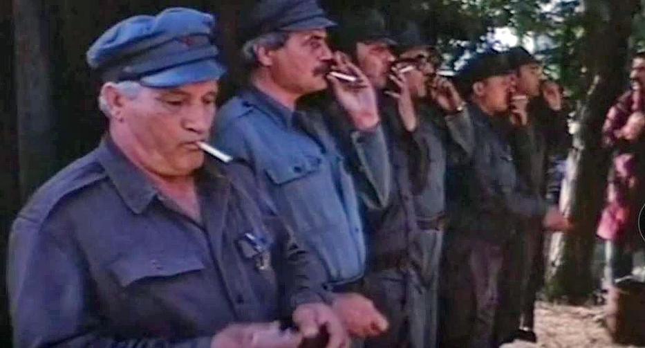 A Csapd le csacsi! című filmben egy szupertitkos munkásőrkommandó lépett akcióba / Fotó: GREBB