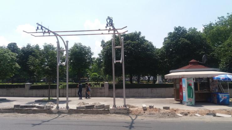 Postavljen punjač električnih autobusa