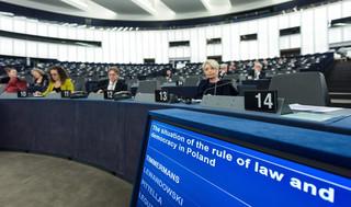 Prezydent zabrał głos ws. rezolucji o Polsce. 'To mowa kłamstwa, która uderza w Polskę'