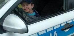 Chłopiec został policjantem