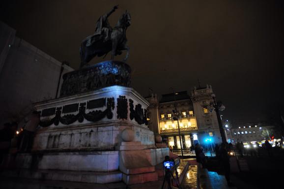 Na Trgu republike brojni sugrađani podržali su ovu akciju