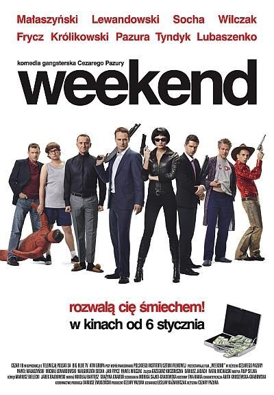 """""""Weekend"""" - plakat"""