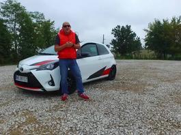 Toyota Yaris GRMN - Robert testuje
