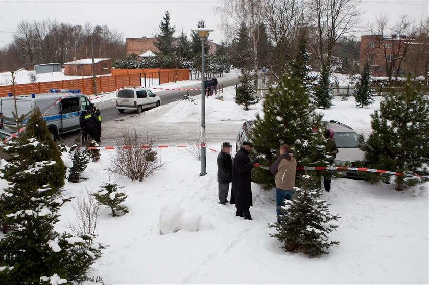 Zabili taksówkarza. Zmarł na śniegu