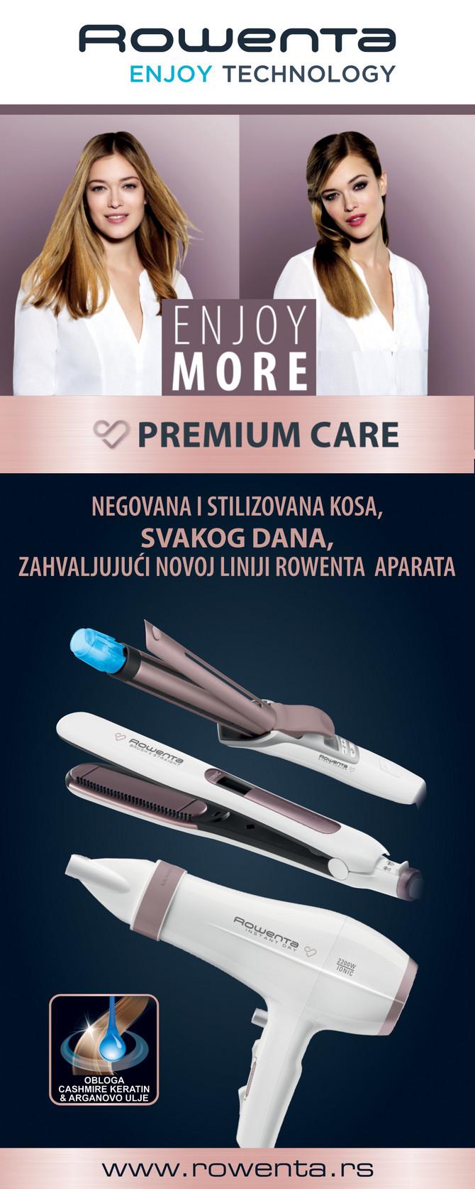 Uz Rowenta Premium Care liniju proizvoda profesionalni rezultati su zagarantovani