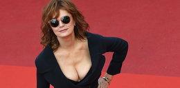 Susan Sarandon zachwyca biustem w Cannes