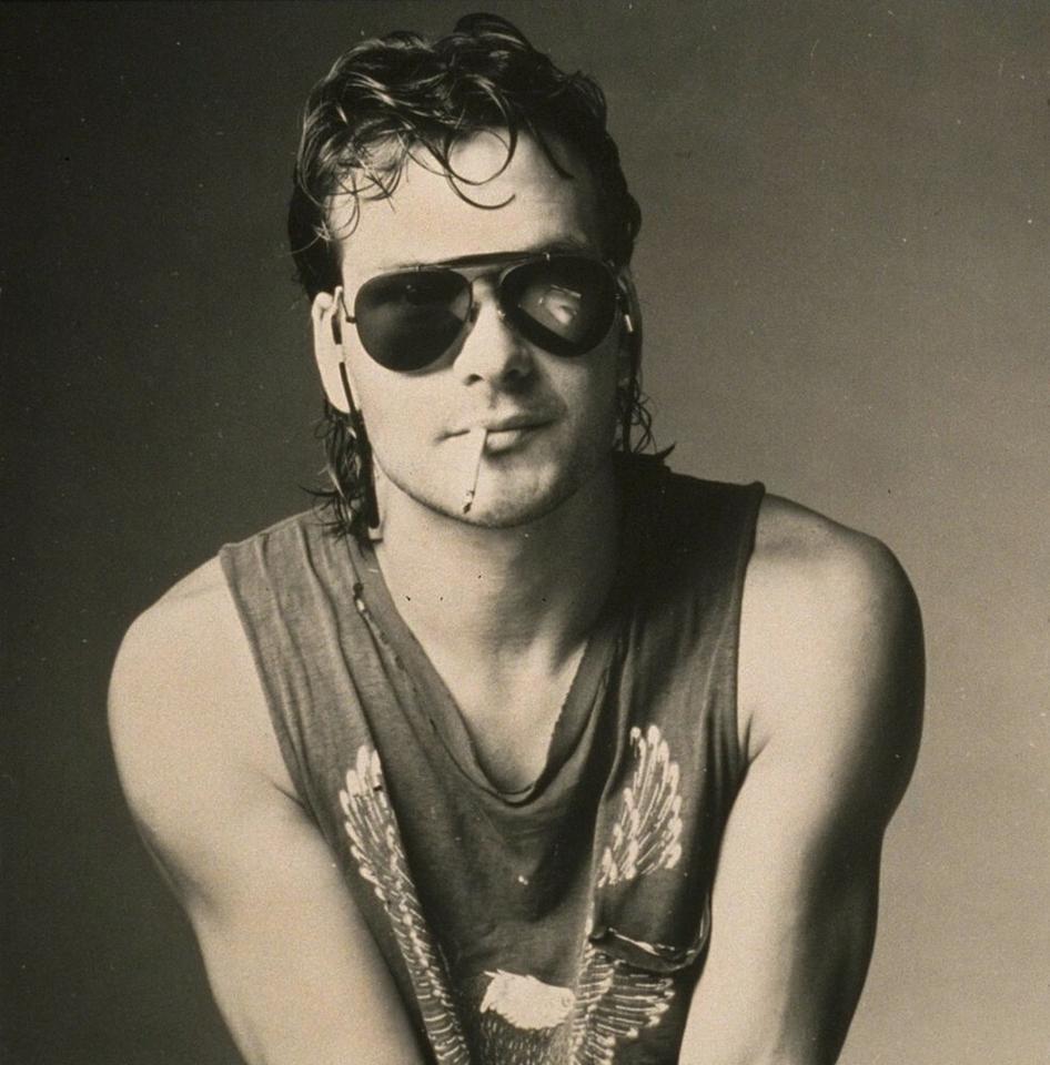 Patrick Swayze w 1986 r.