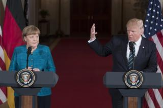 Trump spotkał się z Merkel w Białym Domu. Rozmawiali o TTIP