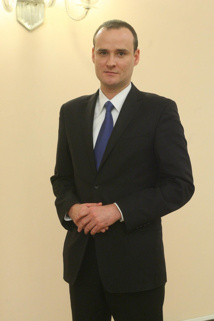 Bartosz Milczarczyk (37 l.), rzecznik stołecznego ratusza