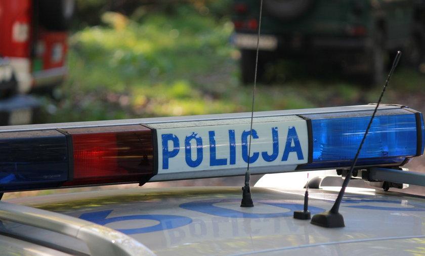 We Włocławku trwają poszukiwania policjanta.