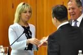 Ivica Dačić, Marija Zaharova, srce, poklon