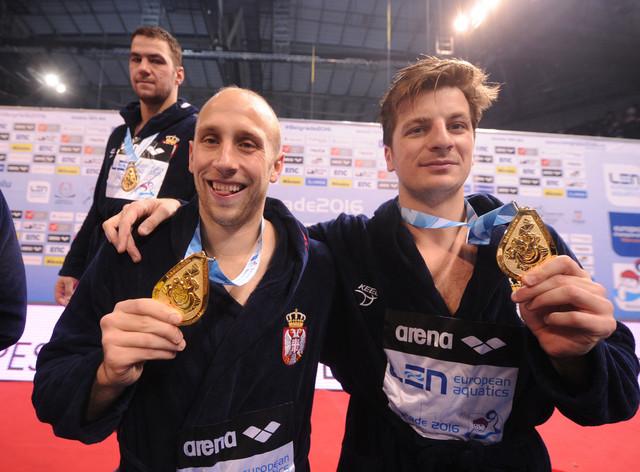 Andrija Prlainović i Milan Aleksić