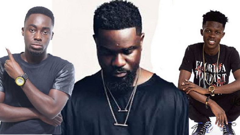 Tee Phlow, Sarkodie and Strongman