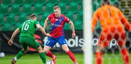 Ekstraklasa: Warta nie wykorzystała dwóch rzutów karnych i przegrała z Rakowem