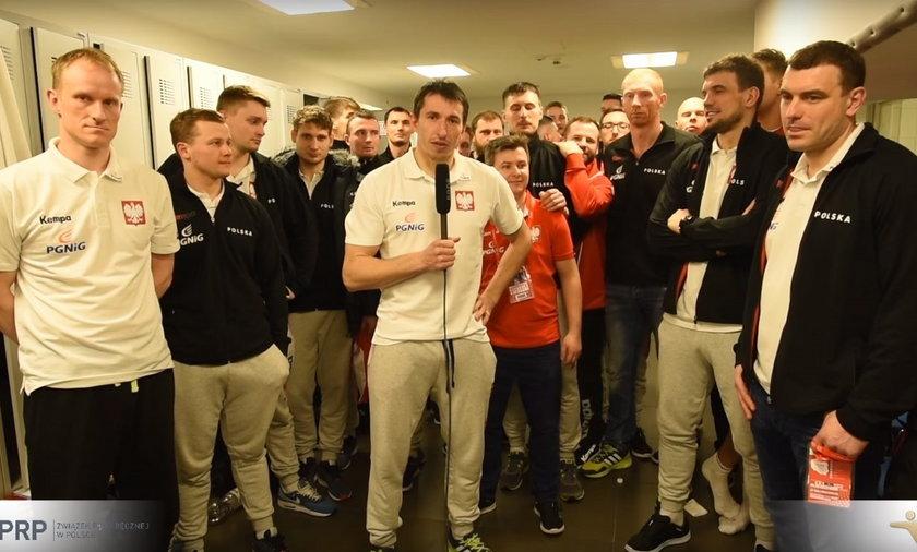 Piłkarze ręczni podziękowali kibicom za wsparcie