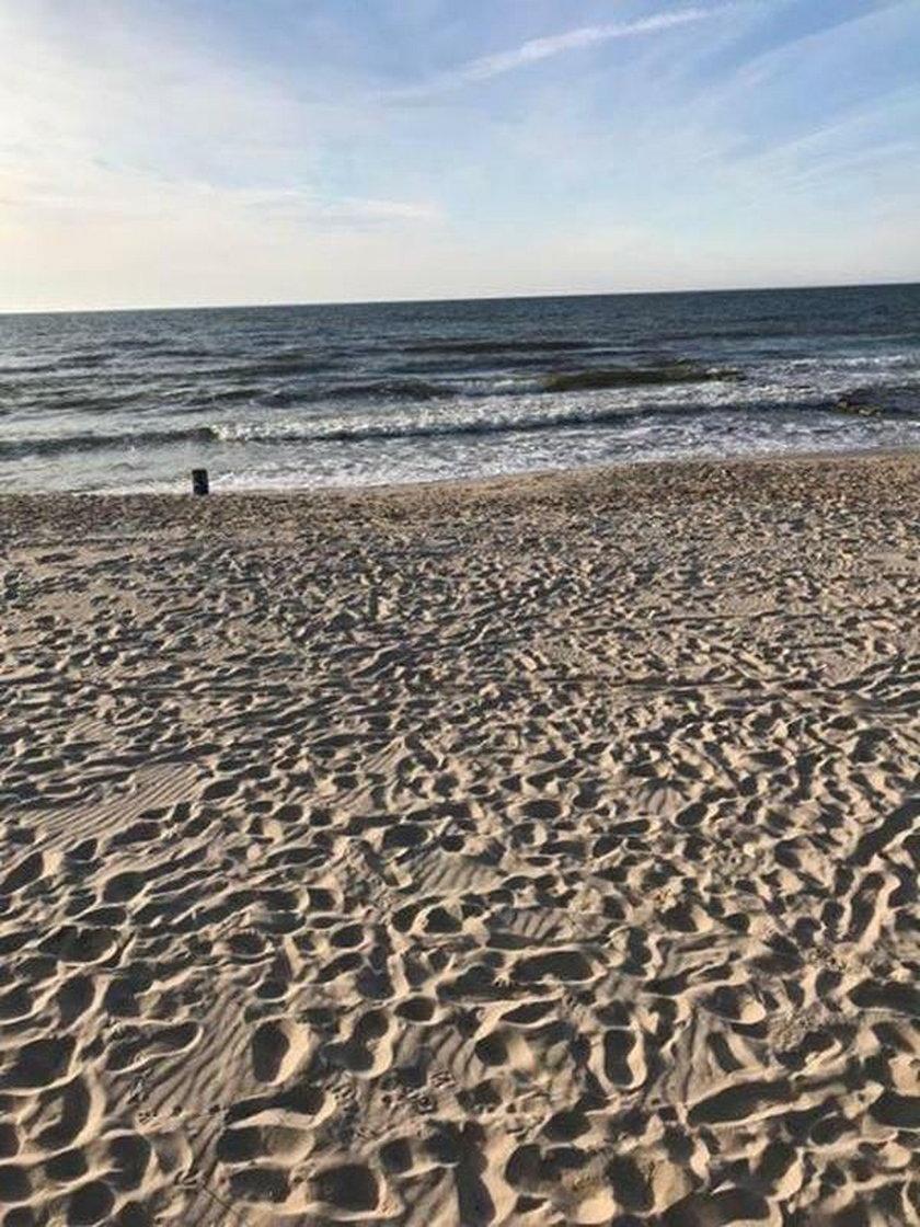 Chemikalia na plaży