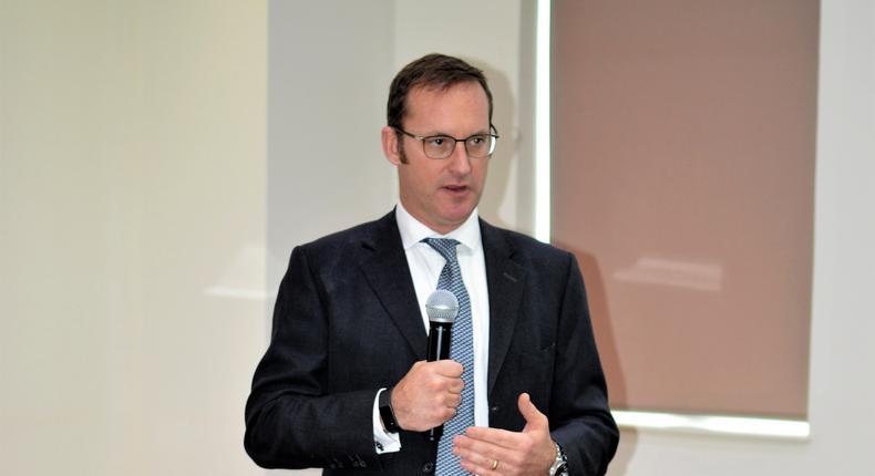 4G Capital Founder and CEO, Wayne Hennessy-Barrett. (George Tubei)