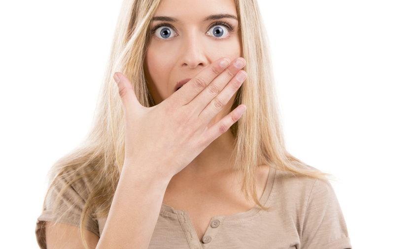 Przykry zapach z ust